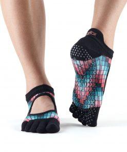 antislip sokken bellarina met tenen van toesox direct online kopen bij yoga-pilatesshop