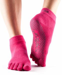 antislip sokken dames in S, M en L beschikbaar bij Yoga-pilates shop