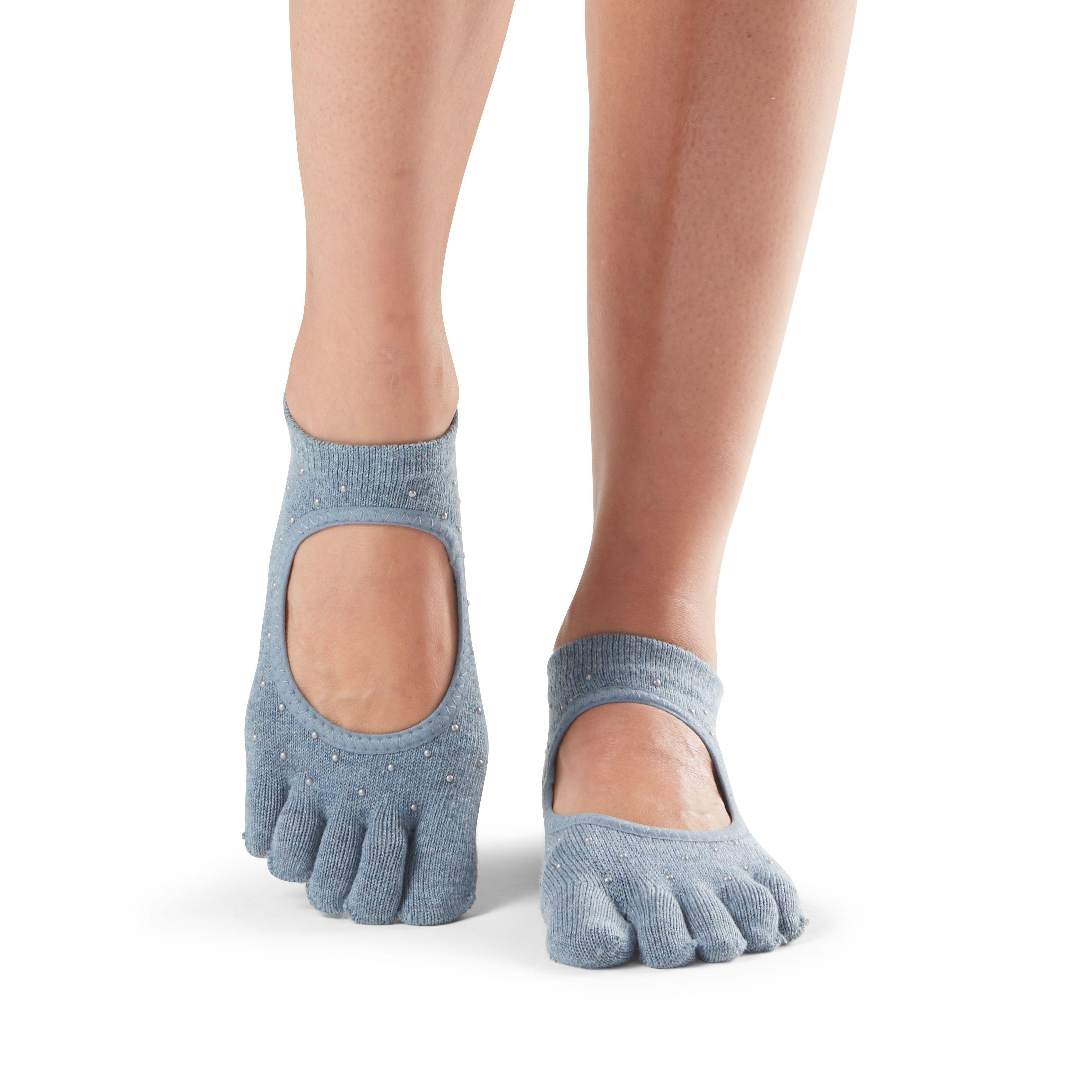 e03524ade13792 antislip sokken in bellarina met hele tenen kun je direct online bestellen  bij yoga-pilatesshop