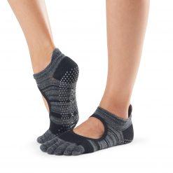 antislip sokken in bellarina model Shadow direct online te koop bij yoga-pilatesshop