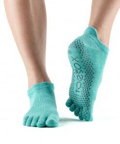 Antislip sokken in de kleur Aqua kopen voor pilates of yoga bij Yoga-Pilatesshop