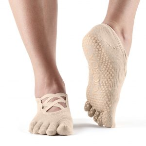 antislip sokken in het model Elle direct online kopen bij yoga-pilatesshop