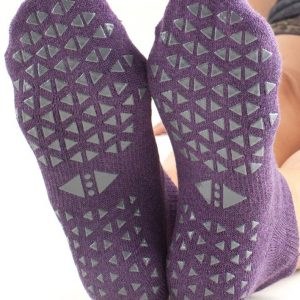 antislip sokken in lavender online kopen bij yoga-pilatesshop utrecht