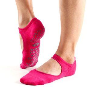 antislip sokken van het merk Tavi Noir zijn bij yoga-pilatesshop te koop; direct veilig en online sokken bestellen