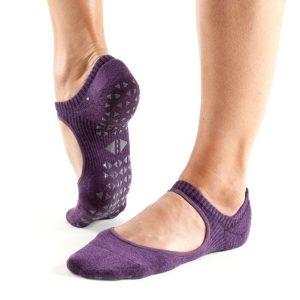 antislip sokken van Tavi Noir Chey Lavender direct online te koop bij yoga-pilatesshop