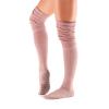 Antislip sokken van Tavi Noir over de knie in oud roze direct online te bestellen via yoga pilates shop in utrecht