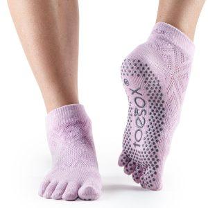 antislip sokken van ToeSox Diamond Freesia direct online kopen bij yoga-pilatesshop