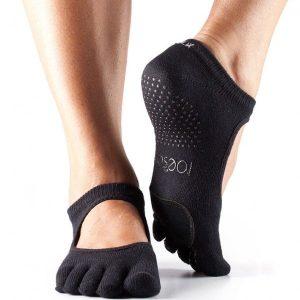 antislip sokken voor dansen met tenen van ToeSox direct online te bestellen bij yoga-pilatesshop.nl