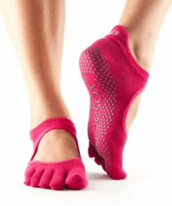 Antislip sokken yoga roze bij Yoga-pilatesshop.nl