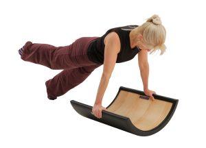 arc barrel oefeningen voor pilates verkrijgbaar bij yoga-pilatesshop.nl in utrecht