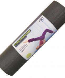Dikke mat pilates kopen zwart online van pilatesmad bij yoga-pilatesshop
