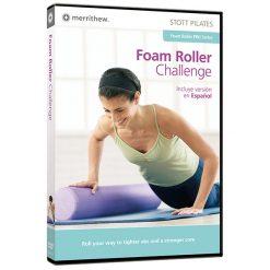 dvd pilates met oefeningen schuimrol fitness van STOTT