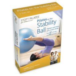 dvd pilates om pilates oefeningen thuis te oefenen met een swiss ball voor de juiste stabiliteit