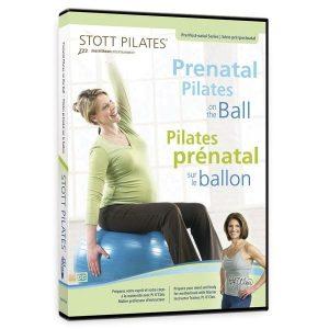dvd pilates voor zwangerschapsoefeningen op de bal is online verkrijgbaar bij yoga-pilatesshop