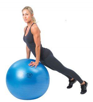 fitness bal 55 cm kopen bij yoga-pilatesshop utrecht