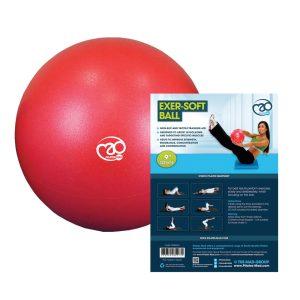 Fitnessbal voor pilates en yoga oefeningen