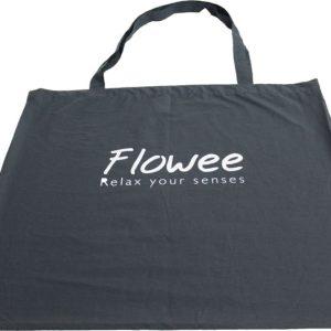 Flowee spijkermat tas kopen in de kleur grijs bij Yoga-pilatesshop.nl