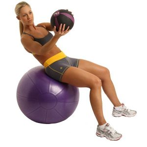 gymbal inclusief pomp 55 cm is direct online te koop bij yoga-pilatesshop.nl