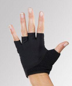 handschoenen yoga zwart maat s, m en l verkrijgbaar bij yoga-pilatesshop.nl