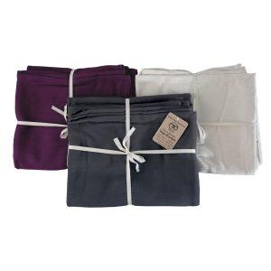 Katoenen deken kopen kan voordelig bij Yoga-pilatesshop.nl in verschillende kleuren!