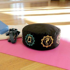meditatiekussen zafu gevuld met boekweit is online te koop bij yoga-pilatesshop utrecht