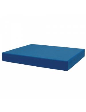 pilates blok blauw bestellen om uw hoofd te ondersteunen bij yoga-pilatesshop.nl