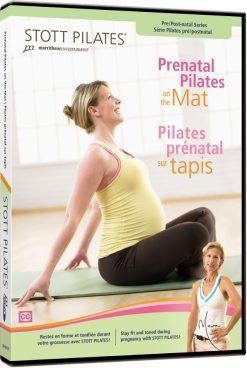 pilates dvd kopen met pilates zwangerschap oefeningen op de mat van Stott