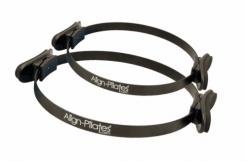 Pilates materiaal kopen zoals de pilates ring van Align-Pilates in de kleur zwart