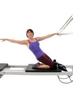 pilates reformer A2 serie inclusief een half cadillac frame is online te koop bij yoga-pilatesshop