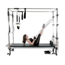 pilates reformer C-serie inclusief full cadillac frame is online te koop bij yoga-pilatesshop.nl