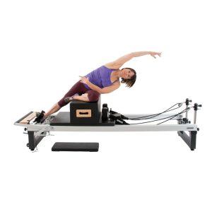 pilates reformer met zit box kopen voor pilates oefeningen in de studio of thuis