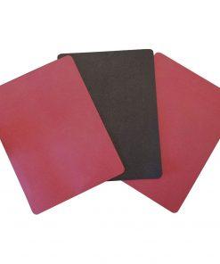 reformer pilates antislip mat in rood is online te koop bij yoga-pilatesshop
