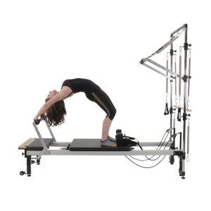 Reformer pilates C2 half cadillac volledig uitgerust te verkrijgen bij yoga-pilatesshop