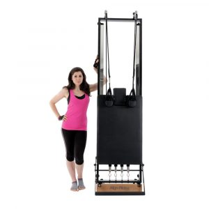 reformer pilates H1 kan gemakkelijk worden verplaatst en worden opgeborgen