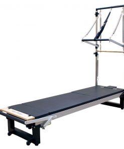 reformer pilates inclusief half cadillac frame voor pilates oefeningen kopen bij yoga-pilatesshop