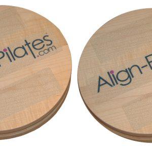 rotatie schijven voor pilates om uw balans te verbeteren