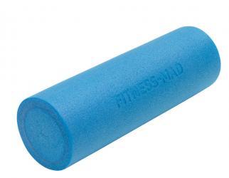 schuimrol fitness blauw van fitnessmad 90 cm x 15 cm blauw