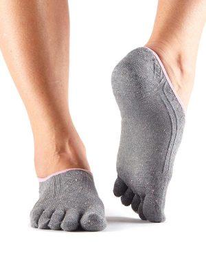 sneakersokken in het grijs direct online te bestellen bij yoga-pilatesshop in utrecht