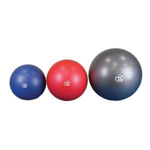 Softgym over of pilates bal blauw voor al uw fitness, yoga en pilates oefeningen