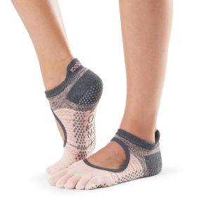 sportsokken bellarina van ToeSox met tenen zijn online te koop bij yoga-pilatesshop