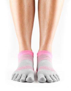 sportsokken met vijf tenen in Lolo Flush zijn ideaal voor tennissen, hardlopen en wandelen