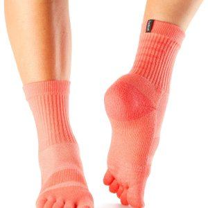 Sportsokken met vijf tenen model zijn ideaal voor hardlopen, wandelen, fietsen, wielrennen en tennissen