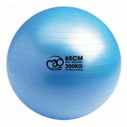 swiss ball kopen voor oefeningen billen en buik 65 cm, 300 kg blauw