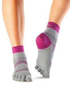 Vijf tenen sokken als sportsokken te gebruiken direct verkrijgbaar bij yoga-pilates winkel