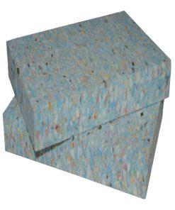 Yoga blok van hergebruikt schuim 25 mm dik direct verkrijgbaar bij Yoga-pilatesshop.nl