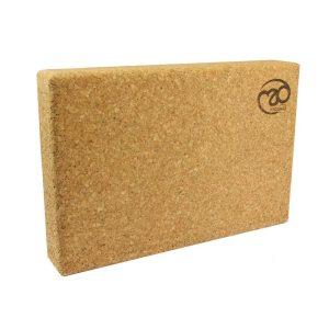 yoga blok van kurk in grote afmetingen kan je voordelig en snel kopen bij yoga-pilatesshop.nl