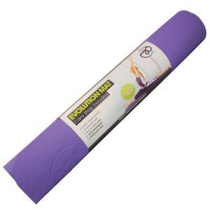 yoga mat in evolution uitvoering in 4 mm dikte met extra veel grip kopen bij yoga-pilatesshop