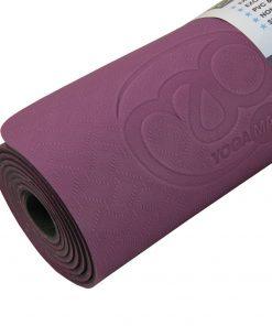 yoga mat voor pilates oefeningen  die je thuis, in de studio of in de sportschool kunt uitvoeren