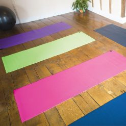 yoga mat Warrior II in Lime Groen is direct online te koop bij Yoga-Pilatesshop.nl