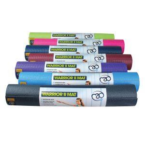 yoga matten in 4 mm dikte zijn ideaal voor yoga oefeningen en online te koop bij yoga-pilatesshop